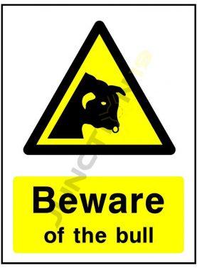 Beware of the bull 1