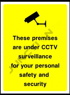 CCTV in premise instruction