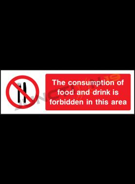 Consumption of food forbidden