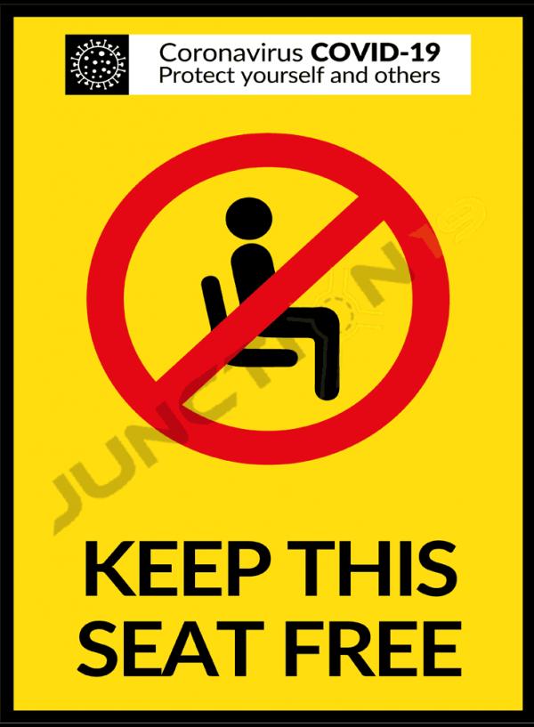 Keep this seat free