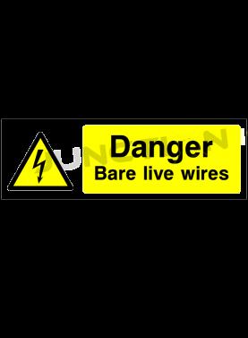 Danger Bare Live Wires
