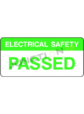 Electrical Safety Passed