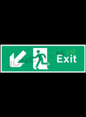 Exit Down Left