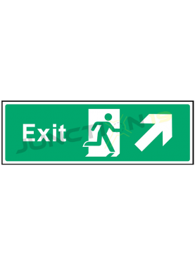 Exit-Up Right
