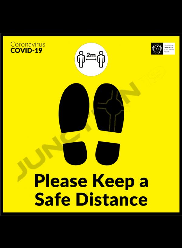 Please Keep a Safe Distance