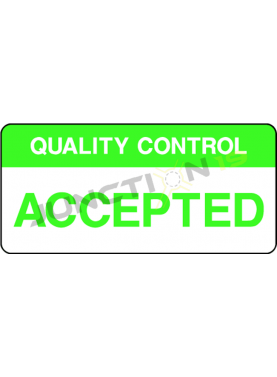 Quality Control Accepted