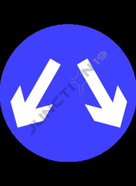 Double Down Arrow