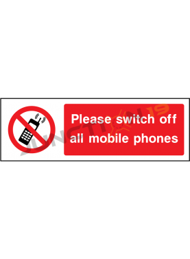 Switch off mobile phones