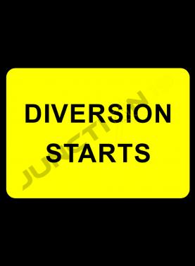 Diversion Starts