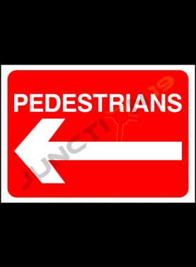 Pedestrians Left